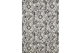 "10'x13'1"" Rug-Charcoal And Pewter Zig Zag"