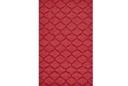 42X66 Rug-Crimson Red Tonal Links