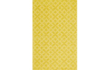 60X96 Rug-Yellow Tonal Starbursts