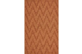 114X162 Rug-Orange Tonal Flamestitch