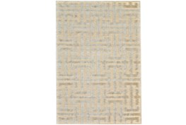 26X48 Rug-Cream And Silver Links