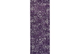 34X94 Rug-Violet Turkish Pattern