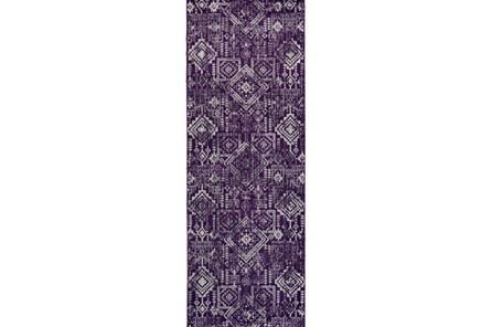 34X94 Rug-Violet Turkish Pattern