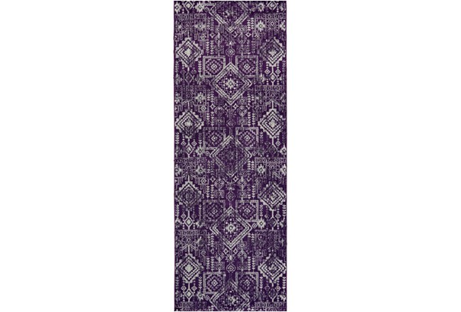 34X94 Rug-Violet Turkish Pattern - 360
