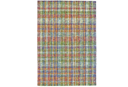 24X36 Rug-Cayman Multi Color Plaid
