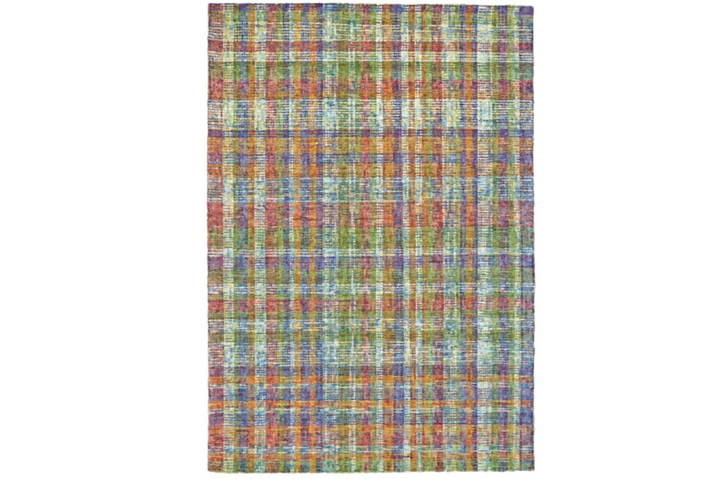 "3'5""x5'5"" Rug-Cayman Multi Color Plaid"