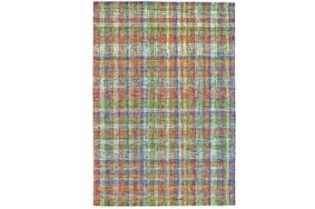 "3'5""x5'5"" Rug-Cayman Multi Color Plaid"