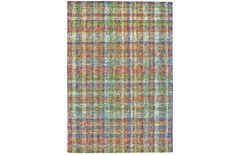 5'x8' Rug-Cayman Multi Color Plaid