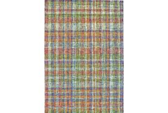 8'x11' Rug-Cayman Multi Color Plaid