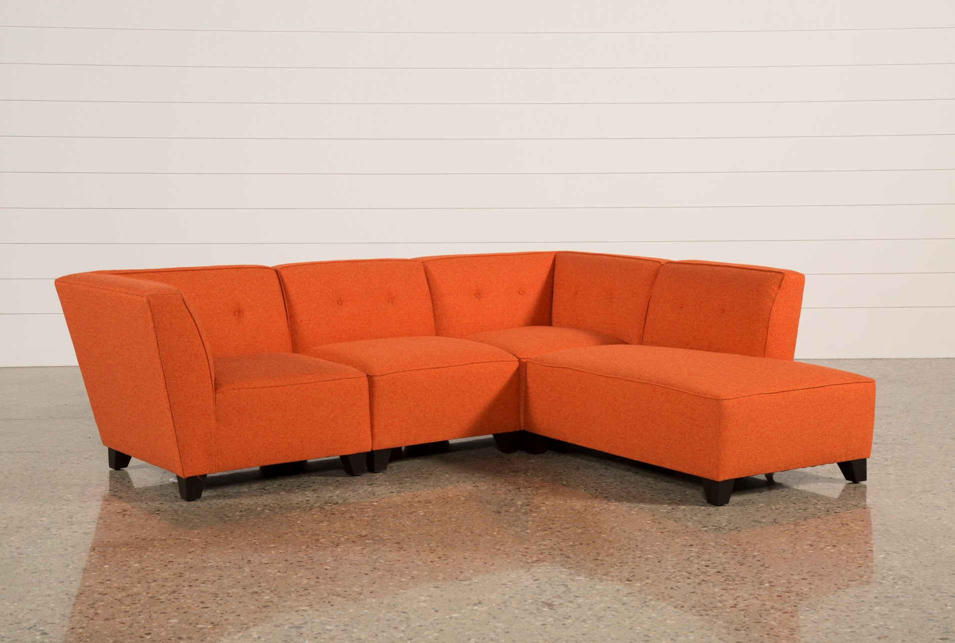 home century piece orange free knight fabric mid set sofa by modern garden sawyer product today sectional overstock shipping christopher