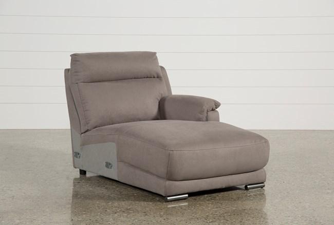 Kerwin Dark Grey Right Facing Chaise - 360