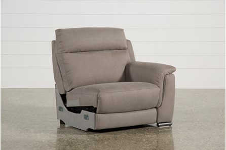Kerwin Dark Grey Right Facing Power Recliner - Main