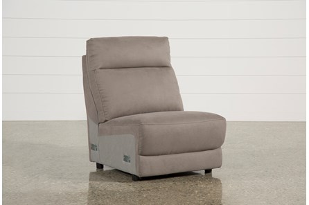 Kerwin Dark Grey Armless Chair - Main