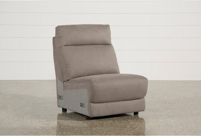 Kerwin Dark Grey Armless Chair - 360