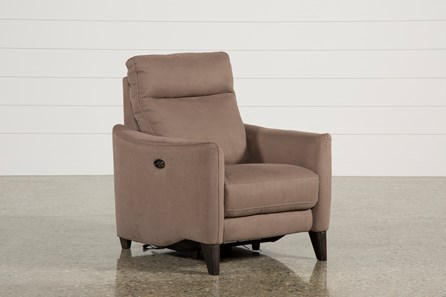 Melina Cocoa Power Recliner W/Usb