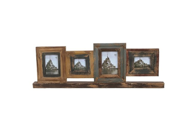 Photo Frame On Stand Wood | Living Spaces