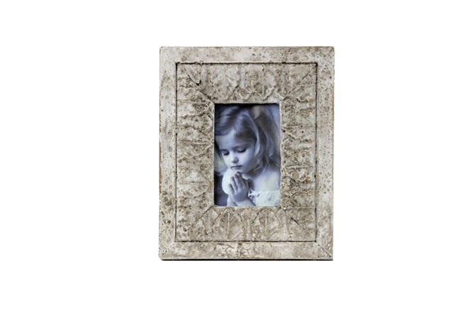 9 Inch Aged Photo Frame - 360