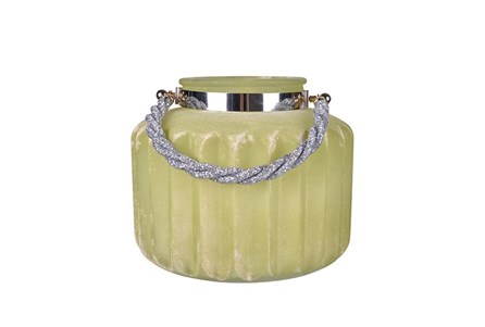 Citron Frosted Lantern  Large