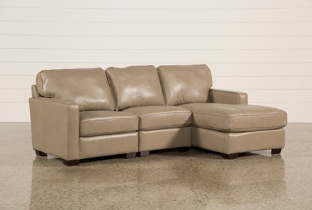 Redford Mushroom 3 Piece Right Facing Chaise Sectional