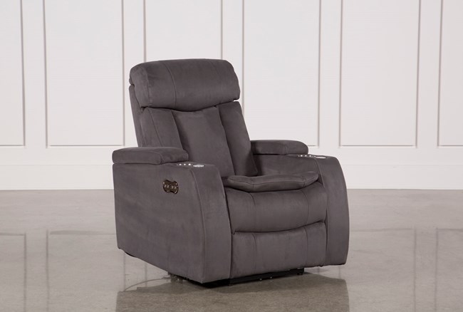 Celebrity Steel Home Theater Recliner W/Power Headrest - 360
