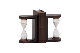 7 Inch Wood Timer Bookend