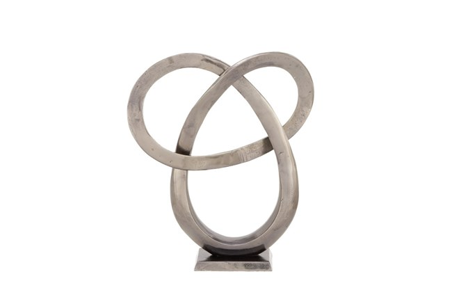20 Inch Aluminum Sculpture - 360