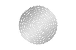 31 Inch Round Steel Wall Decor