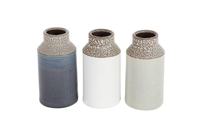 12 Inch Neutral  Vase - 360