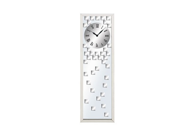 42 Inch Glass Mirror Clock - 360