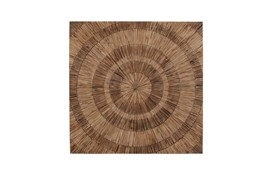 47 Inch Wood Maze Wall Decor