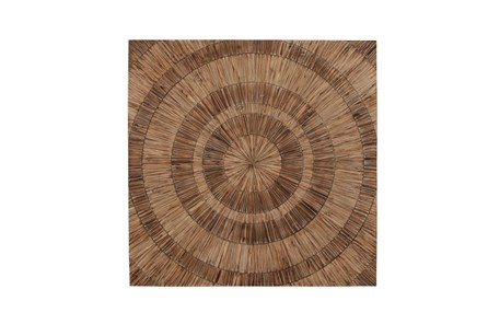 47 Inch Wood Maze Wall Decor - Main
