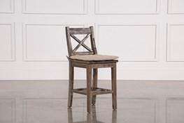 Mallard Counter Stool W/Cushion