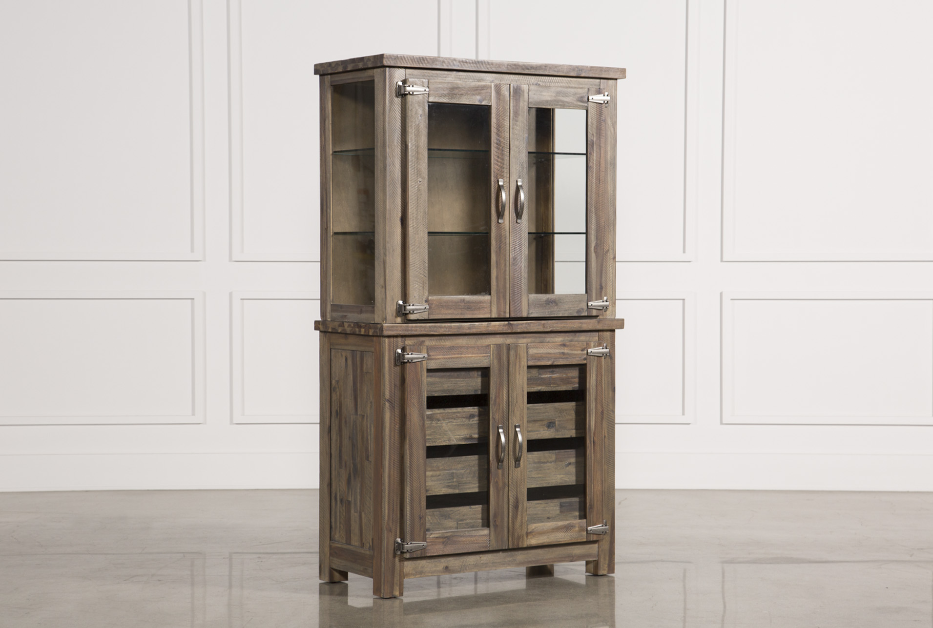 Mallard Glass Door Curio Cabinet (Qty: 1) Has Been Successfully Added To  Your Cart.