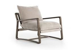 Cobblestone Jute & Burnt Birch Chair