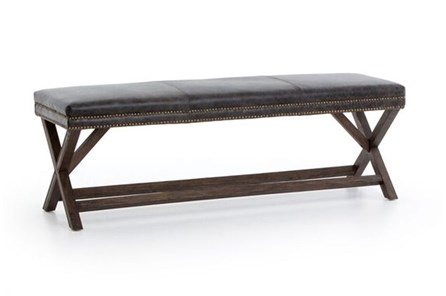 Durango Smoke & Warm Cedar Bench - Main