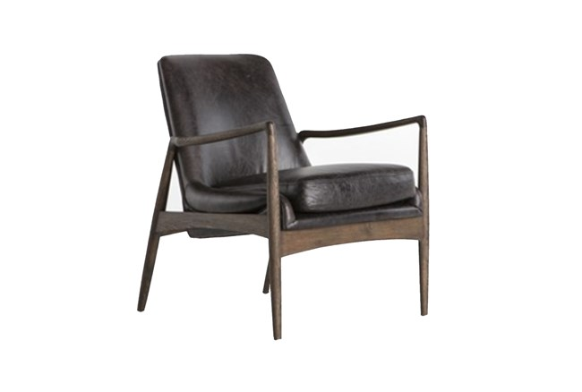 Durango Smoke & Warm Cedar Accent Chair - 360