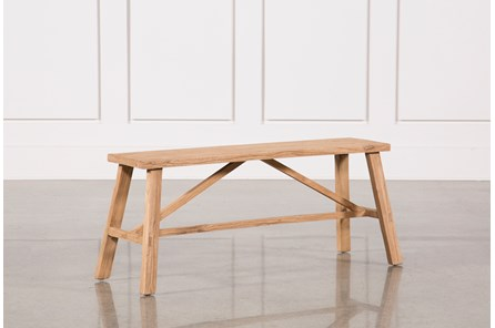 Antique Weathered Bench - Main