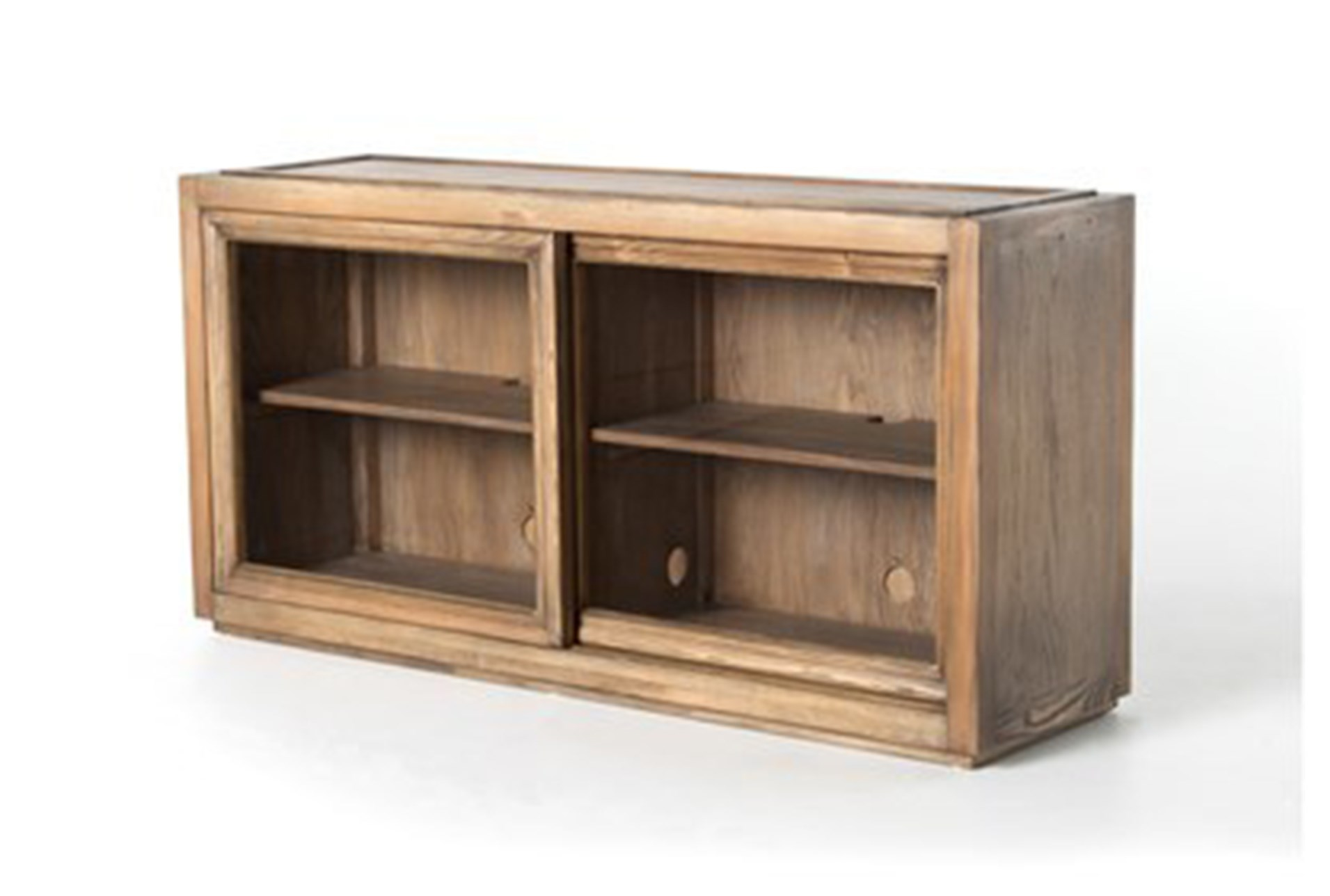living spaces tv stand. Oak \u0026 Brass Stacking Media Console Living Spaces Tv Stand