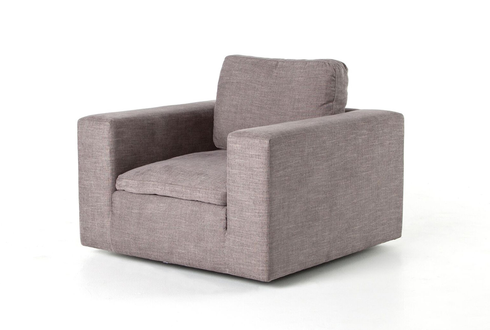 Harbor Grey Swivel Accent Chair Living Spaces