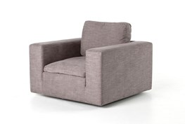 Harbor Grey Swivel Accent Chair