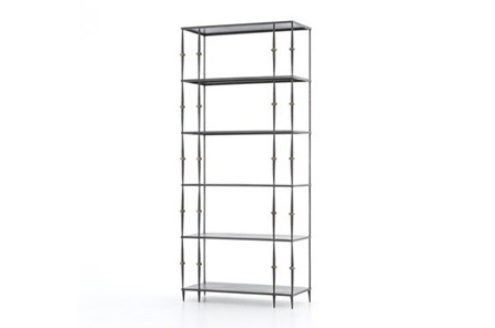 Gunmetal Bookshelf