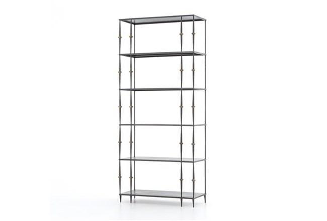 Gunmetal Bookshelf - 360