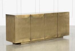 Aged Brass Sideboard