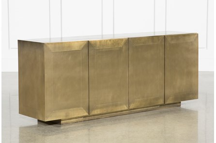 Aged Brass Sideboard - Main