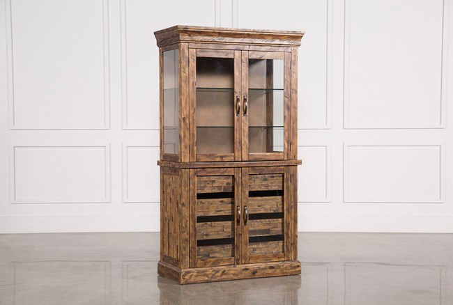 Partridge Glass Door Curio Cabinet - 360