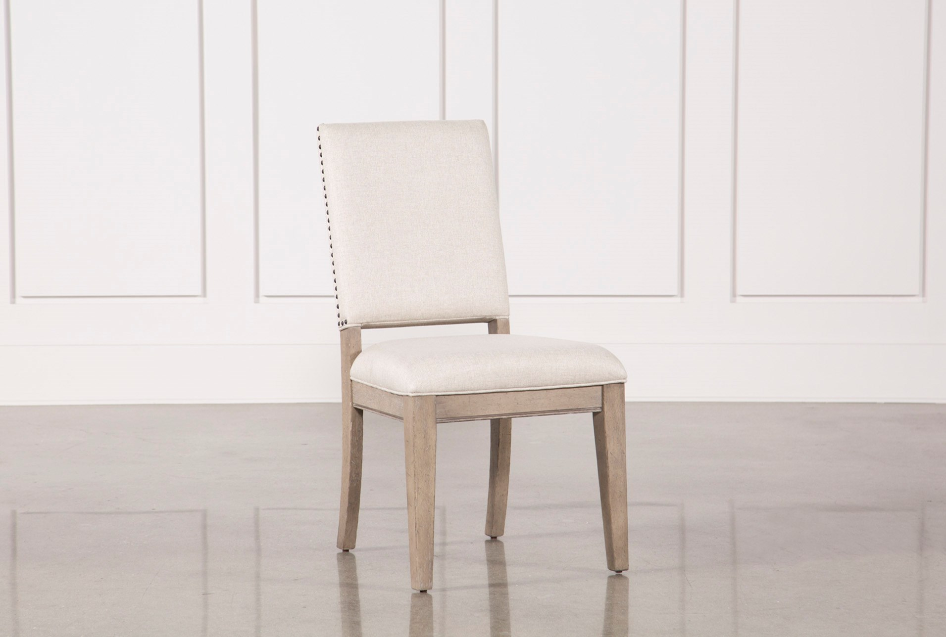 Walden Upholstered Dining Side Chair Living Spaces