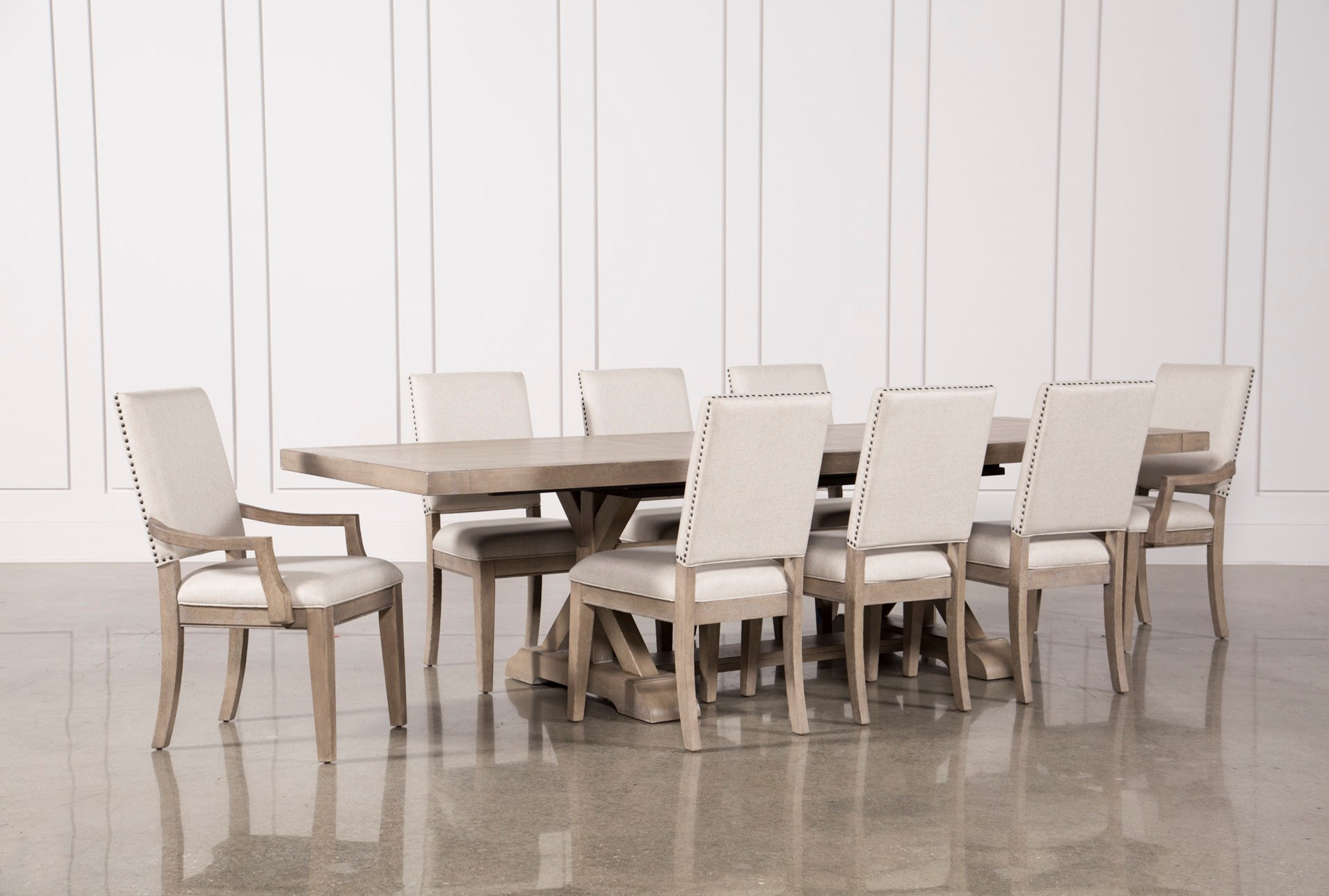 Walden 9 Piece Extension Dining Set | Living Spaces