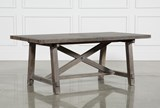 Jaxon Grey Rectangle Extension Dining Table - Left