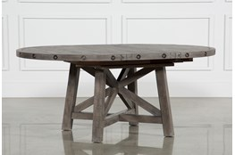 Jaxon Grey Round Extension Dining Table