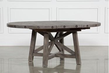 Jaxon Grey Round Extension Dining Table
